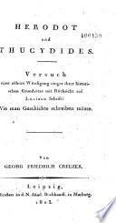 Herodot und Thucydides
