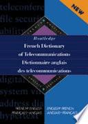 Dictionnaire Anglais Des T  l  communications