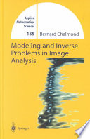 Modeling and Inverse Problems in Imaging Analysis