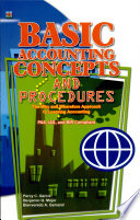Basic Accounting Concepts & Procedures' 2006 Ed.