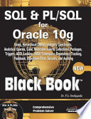 Sql   Pl Sql For Oracle 10G Black Book  2007 Ed