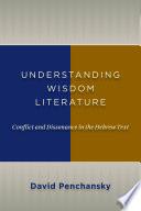 Understanding Wisdom Literature