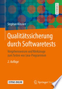 Qualit Tssicherung Durch Softwaretests
