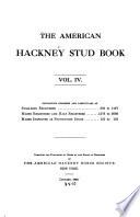 The American Hackney Stud Book