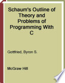 Schaum s Outline of Programming with C