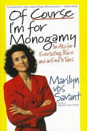 Of Course I m for Monogamy