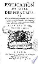 Explication du livre des Pseaumes
