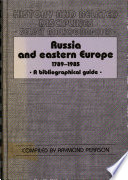 Russia And Eastern Europe 1789 1985