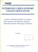 Interstate Child Support Collections Study