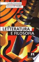 Letteratura e filosofia