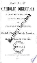 Sadliers  Catholic Directory  Almanac and Clergy List Quarterly
