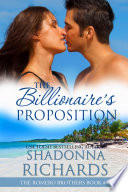 download ebook the billionaire's proposition (the romero brothers, book 4) pdf epub