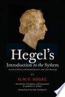 Hegel S Introduction To The System
