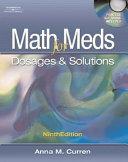 Math for Meds