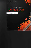 Shelly Cashman Microsoft Office 365   Office 2016  Introductory   Lms Integrated Mindtap Computing  1 term Access