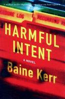 Harmful Intent