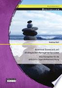 Balanced Scorecard und strategischer Managementprozess: Eine Konzeption für die ambulante Jugendhilfeeinreichtung