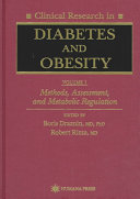 Clinical Research in Diabetes and Obesity  Volume 1