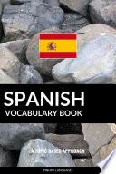 Spanish Vocabulary Book