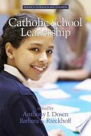 Catholic School Leadership book
