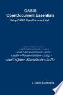 OASIS OpenDocument Essentials