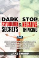 Dark Psychology Secrets Stop Negative Thinking