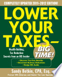 Lower Your Taxes   Big Time 2011 2012 4 E