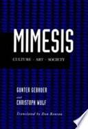 Mimesis book