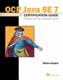 Best OCP Java SE 7 Programmer II Certification Guide
