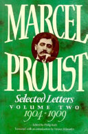 marcel proust selected letters 1904 1909