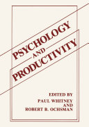 Psychology and Productivity