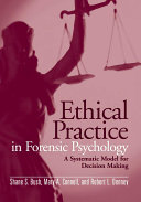 Ethical Practice in Forensic Psychology