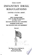 The new Infantry drill regulations