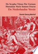 De Scypho Vitreo per certum humanae vocis sonum fracto   The Dutch translation
