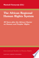 The African Regional Human Rights System