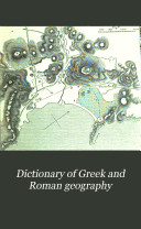 download ebook dictionary of greek and roman geography: iabadius-zymethus pdf epub