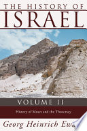 The History of Israel  Volume 2