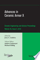 Advances in Ceramic Armor X