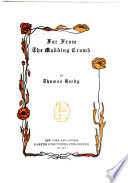 Works  Far from the madding crowd Book PDF