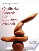 Qualitative Research   Evaluation Methods