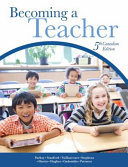 Becoming a Teacher  Fifth Canadian Edition