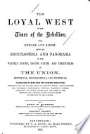 The Loyal West In The Times Of The Rebellion : ...