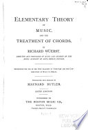 Elementary Theory of Music  and the Treatment of Chords