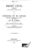 Le droit civil expliqué suivant l'ordre du Code