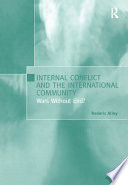 Internal Conflict and the International Community