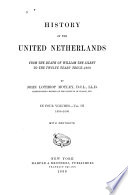 History of the United Netherlands  1590 1600 Book PDF