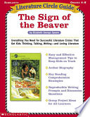 Literature Circle Guide  the Sign of the Beaver