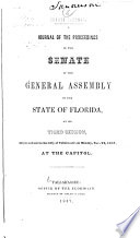 A Journal of the Proceedings of the House of Representatives of the     General Assembly of the State of Florida  at Its     Session