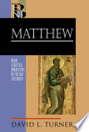 Matthew  Baker Exegetical Commentary on the New Testament