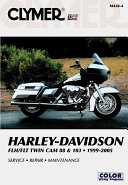 Harley Davidson Flh Flt Twin Cam 88 103 1999 2005